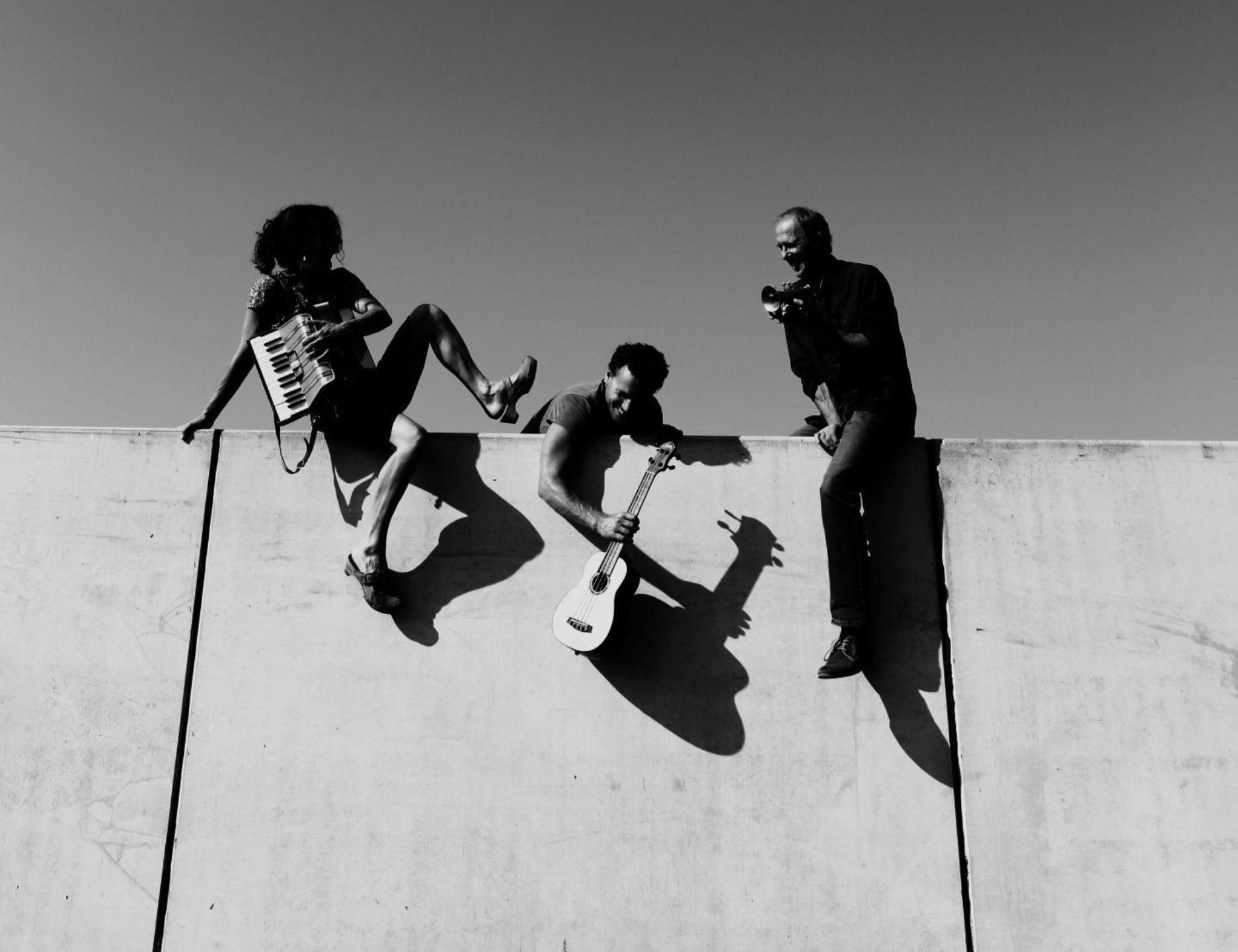 Zapzarap Trio Auf der Mauer BW